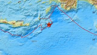 Σεισμός κοντά σε Κάρπαθο και Ρόδο