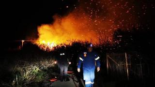 Οριοθετήθηκε η μεγάλη πυρκαγιά που ξέσπασε στην Αργολίδα