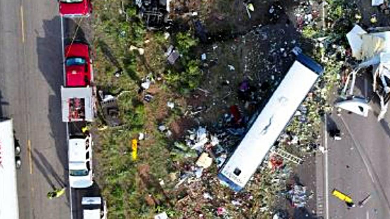 Μεξικό: Τροχαίο δυστύχημα με φορτηγό που μετέφερε δεκάδες μετανάστες - Έπεσε σε χαντάκι