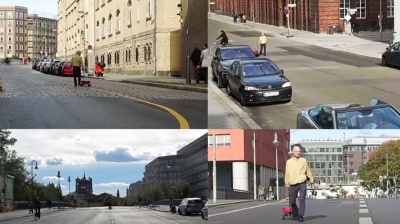 Άνδρας «τρελαίνει» τα μηχανάκια της Google Maps προκαλώντας... χάος σε άδειο δρόμο
