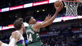 NBA: Nέα φοβερή εμφάνιση του Αντετοκούνμπο και νίκη των Μπακς