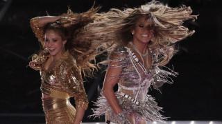 Super Bowl: Ποια ήταν η αμοιβή της Τζένιφερ Λόπεζ και της Σακίρα για την εμφάνισή τους