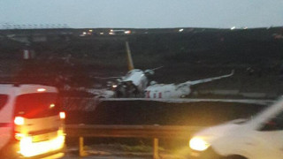 Συναγερμός σε αεροδρόμιο της Τουρκίας: Αεροπλάνο κόπηκε στα δύο