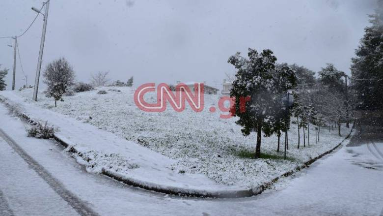 Καιρός: Η κακοκαιρία «σαρώνει» τη χώρα - Προ των πυλών της Αθήνας ο χιονιάς