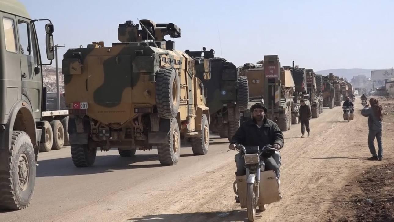 Βαρύ οπλισμό στα σύνορα με τη Συρία συγκεντρώνει η Τουρκία