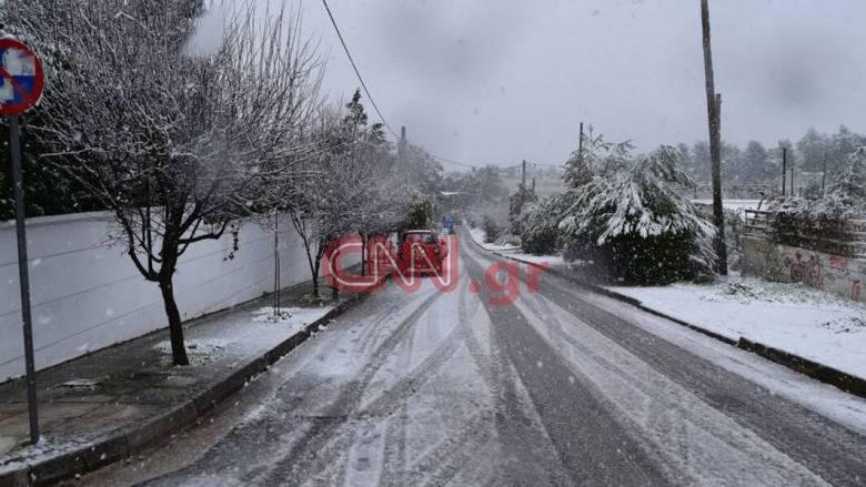 Λαγουβάρδος στο CNN Greece: Χιόνια στην Αττική και τις επόμενες ώρες