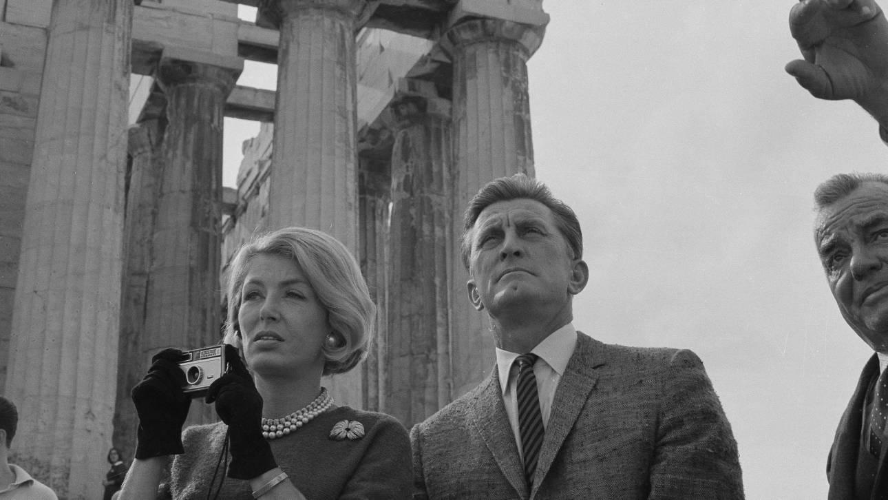 Ο Κερκ Ντάγκλας στην Αθήνα - Πριν από 55 χρόνια (pics)