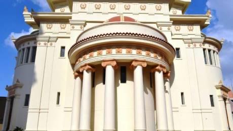 Η αποκατάσταση του ναού Αγ. Κωνσταντίνου και Ελένης παρουσιάστηκε στον Σύνδεσμο Αιγυπτιωτών Ελλήνων