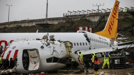 Συντριβή αεροσκάφους στην Τουρκία: Έρευνα σε βάρος των πιλότων για το δυστύχημα