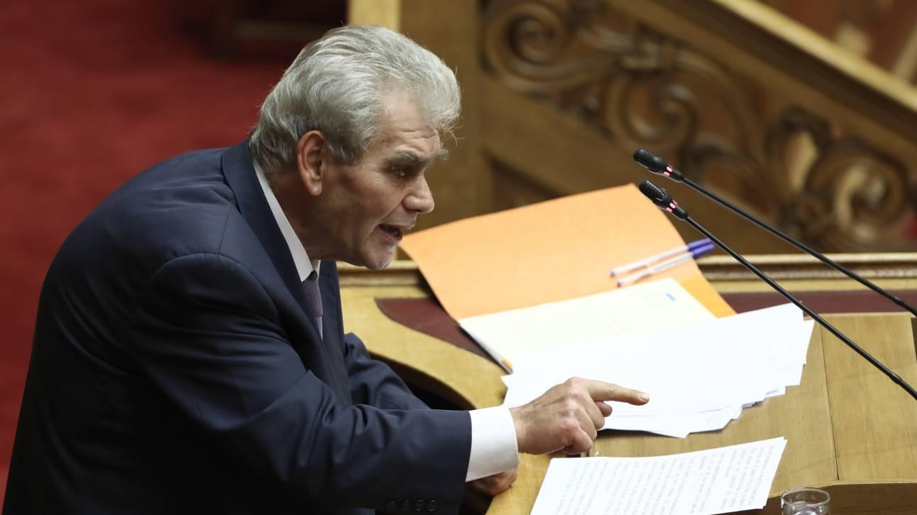 Παπαγγελόπουλος: Ψευδής η κατάθεση της Τσατάνη για την υπόθεση Novartis