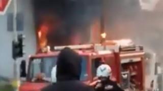 Βίντεο από την μεγάλη φωτιά στο Γέρακα - Υπό έλεγχο οι φλόγες