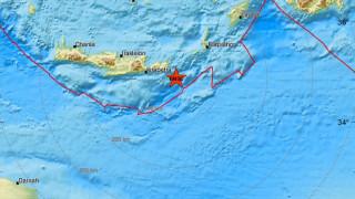 Τριπλός σεισμός κοντά στην Κρήτη
