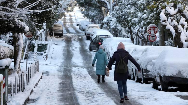 Καιρός: Στην «κατάψυξη» η χώρα - Χιόνια, παγετός και καταιγίδες