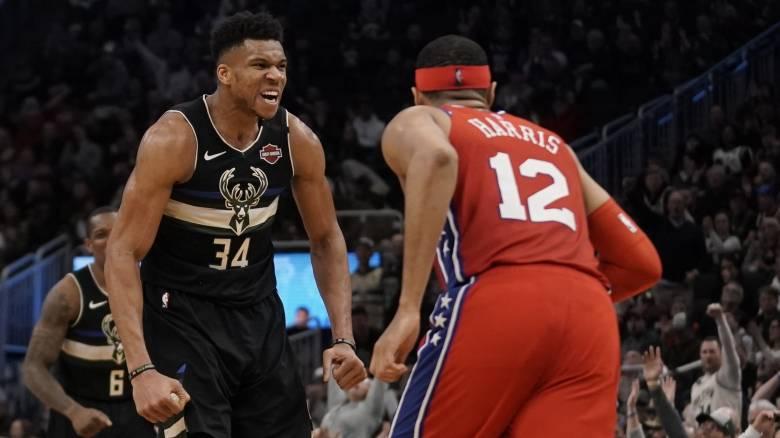NBA: Ο Γιάννης Αντετοκούνμπο «σάρωσε» απέναντι στους Σίξερς