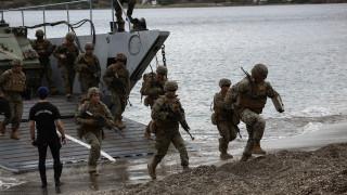 «Μέγας Αλέξανδρος»: Η μεγάλη στρατιωτική άσκηση Ελλήνων, Γάλλων και Αμερικανών σε φωτογραφίες