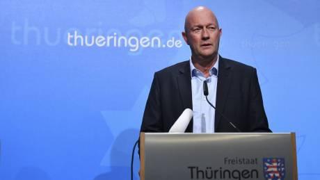 Γερμανία: Επιστρέφει προσωρινά ο Κέμεριχ ως πρωθυπουργός της Θουριγγίας