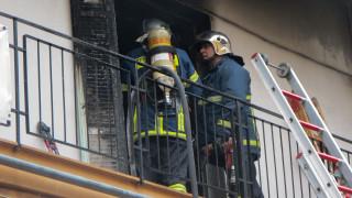 Θεσσαλονίκη: Φωτιά σε κατοικία στη Νέα Μηχανιώνα