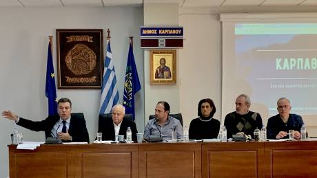 Κόνσολας: Στρατηγικό σχέδιο τουριστικής ανάπτυξης για την Κάρπαθο με 7 άξονες