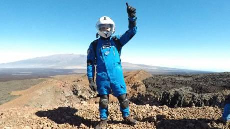 Αύγουστος Πανταζίδης: Ο Έλληνας εκπαιδευόμενος αστροναύτης σε αποστολή προσομοίωσης στη Σελήνη