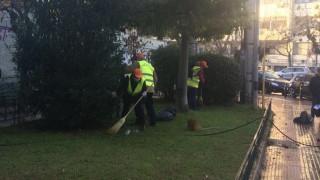 Κυριακάτικη παρέμβαση καθαριότητας του Δήμου Αθηναίων σε Γουδή-Αμπελοκήπους