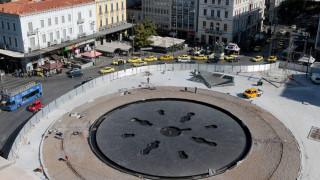 Πλατεία Ομονοίας: Τα αποκαλυπτήρια της ανανεωμένης πλατείας - Εντυπωσιακά πλάνα από ψηλά