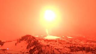 Το μεγαλύτερο πυροτέχνημα στον κόσμο ζύγιζε πάνω από έναν τόνο και εκτοξεύτηκε στο Κολοράντο