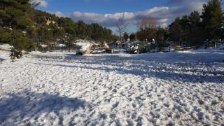 Αυξήθηκε η χιονοκάλυψη μετά το ελάχιστο των τελευταίων 15 ετών στην Ελλάδα