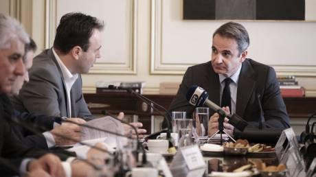 Σύσκεψη Μητσοτάκη - ΚΕΔΕ: Είσπραξη ΕΝΦΙΑ και νέο ΕΣΠΑ στην ατζέντα των συζητήσεων