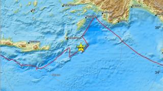 Σεισμός νοτιοανατολικά της Καρπάθου