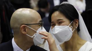 Κοροναϊός: Ομαδικός… γάμος στη Νότια Κορέα - 6.000 ζευγάρια αψήφησαν τον ιό