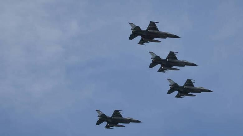 Συνεχίζεται για τρίτη ημέρα το «μπαράζ» υπερπτήσεων τουρκικών F-16