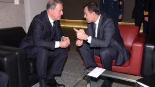 Συνάντηση Παναγιωτόπουλου-Ακάρ στις Βρυξέλλες - Τι συζήτησαν