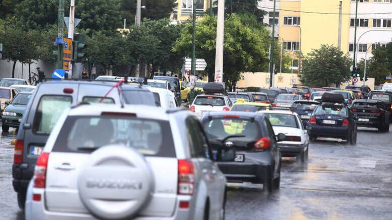 Κυκλοφοριακό χάος στην Αθήνα: Πού εντοπίζονται προβλήματα