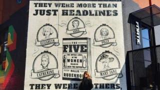 Μια τοιχογραφία στο Λονδίνο για τα θύματα του Τζακ του Αντεροβγάλτη
