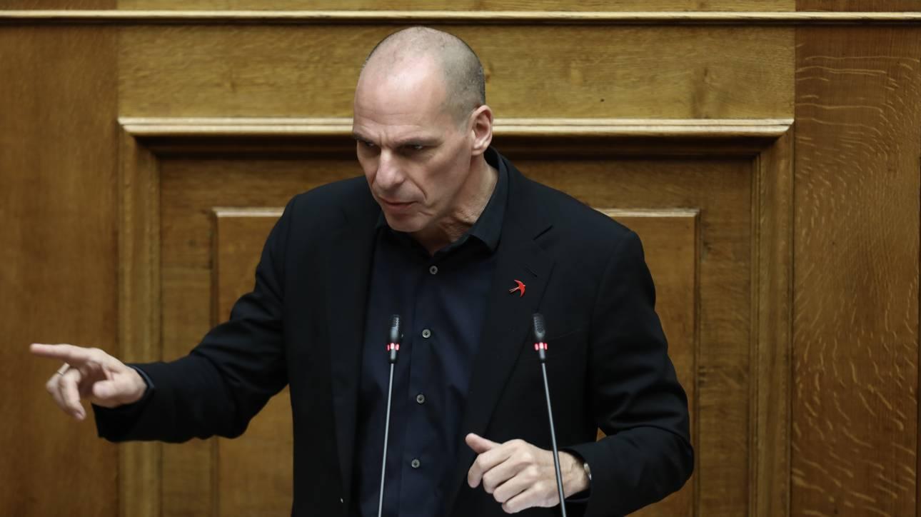 Ο Βαρουφάκης κατέθεσε στη Βουλή τις ηχογραφήσεις του Eurogroup του 2015