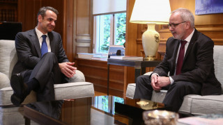 Μητσοτάκης στον πρόεδρο της ΕΤΕπ: Έχουμε φιλόδοξα σχέδια για το 2020