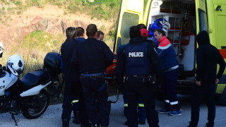 Σοβαρό τροχαίο με τρεις τραυματίες στην Κρήτη