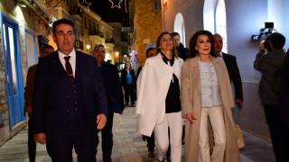 «Ελλάδα 2021»: Στο Ναύπλιο η πρώτη στάση της Γιάννας Αγγελοπούλου
