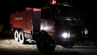 Φωτιά σε σπίτι στην Λιοσίων – Διακοπή της κυκλοφορίας