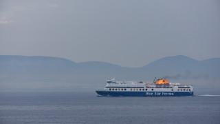 Κατέπλευσε στο λιμάνι της Ρόδου το Blue Star 2