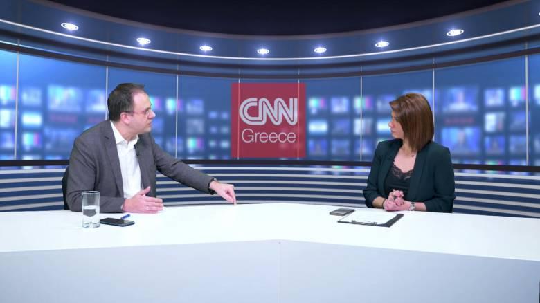 Θεοχαρόπουλος στο CNN Greece: Μονόδρομος η διεύρυνση του ΣΥΡΙΖΑ
