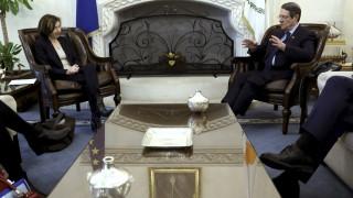Αναστασιάδης - Παρλί συζήτησαν για την αμυντική συνεργασία Γαλλίας - Κύπρου