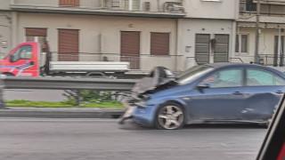 Ουρές χιλιομέτρων στην Αθηνών - Λαμίας μετά από τροχαίο