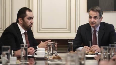 Συνάντηση Μητσοτάκη-Al Jaber: Η διευρυμένη συνεργασία Ελλάδας-ΗΑΕ στο επίκεντρο