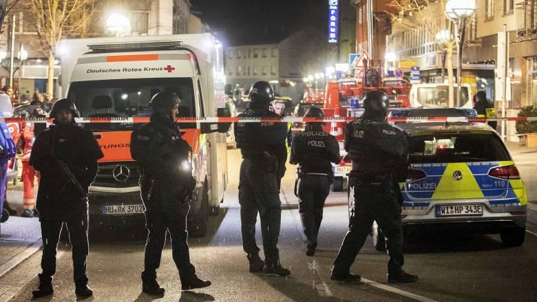 Γερμανία: Πολύνεκρες επιθέσεις στην πόλη Χάναου - Νεκρός ο δράστης