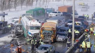 Καναδάς: Δύο νεκροί σε απίστευτη καραμπόλα με περισσότερα από 200 οχήματα