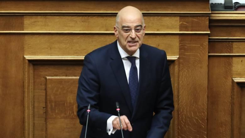 Δένδιας: Η Ελλάδα δεν θα συμμετάσχει σε ένα ανατολίτικο παζάρι στη Μεσόγειο