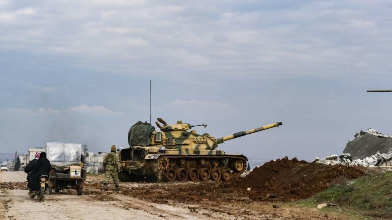 Ιντλίμπ: Ρωσική αεροπορική επιχείρηση κατά του τουρκικού πυροβολικού - Τι καταγγέλλει η Μόσχα