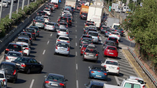 Κυκλοφοριακή συμφόρηση στην Αθήνα - Ποια σημεία να αποφύγετε