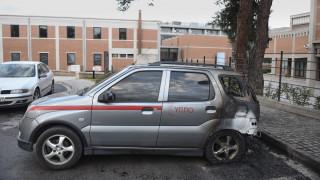 Θεσσαλονίκη: Εμπρηστική επίθεση σε αυτοκίνητα του υπ. Πολιτισμού